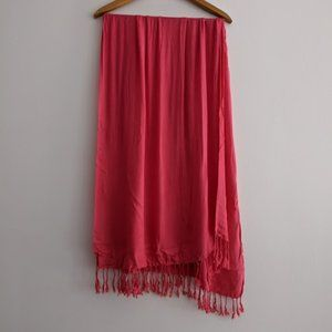 Ashley Cooper Bright Pink Lightweight Scarf